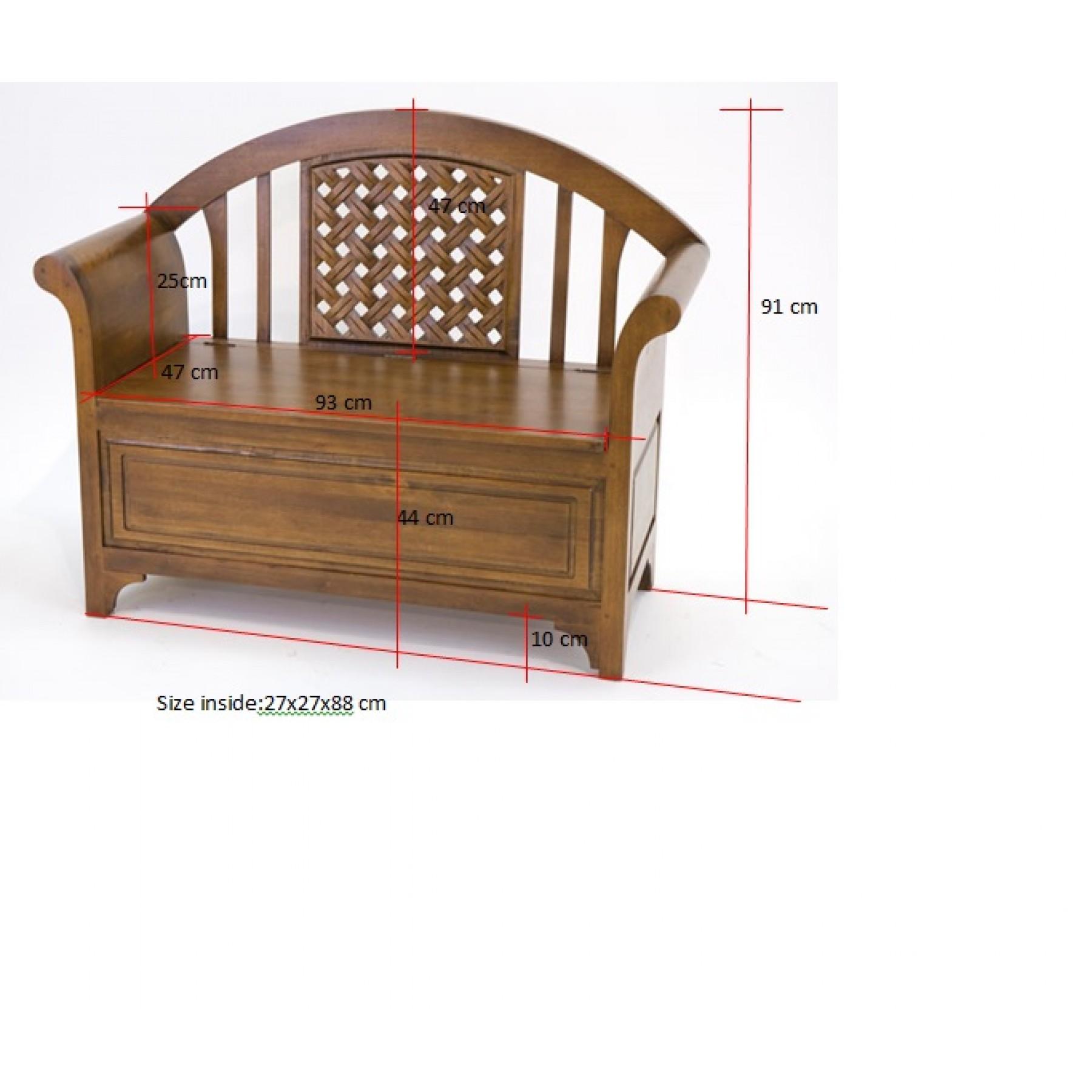 banc entr e coffre ladin par nomadde mobilier design. Black Bedroom Furniture Sets. Home Design Ideas
