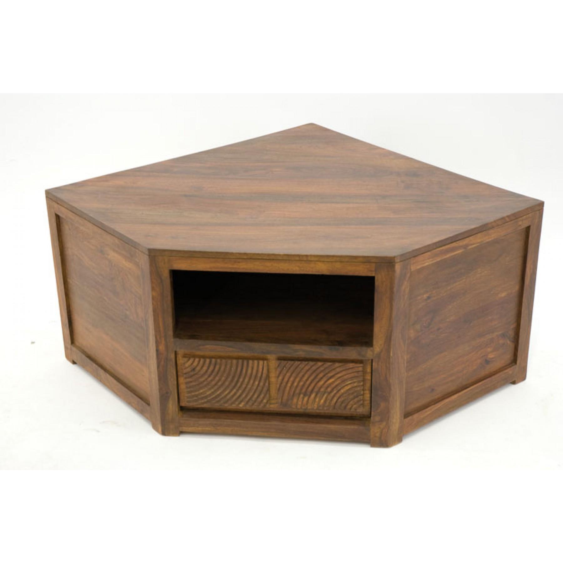meuble tv d 39 angle 1 niche 1 tiroir hindi par nomadde meubles design