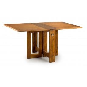 TABLE DE REPAS MAORI PLIANTE 2 RALLONGES 165*90*78