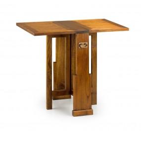 TABLE AUXILIAIRE MAORI 2 RALLONGES PLIANTE 90*50*78