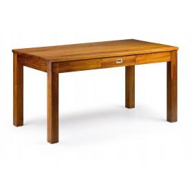 TABLE DE REPAS MAORI 2 TIROIRS 150*85*78