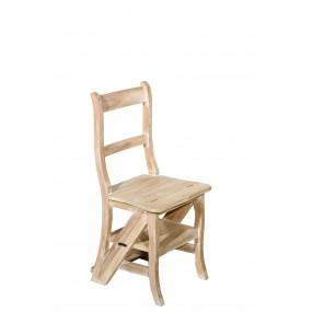 Chaise libraire bois Teck