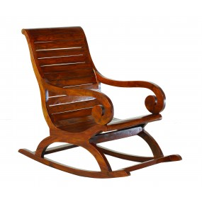 Rocking chair bois Mindi