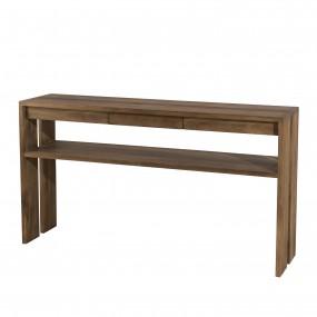 Console bois 1 tiroir