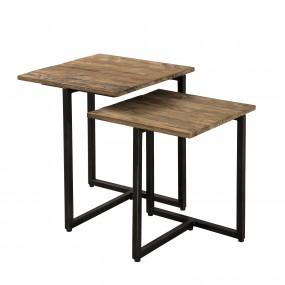Table gigogne bois