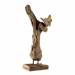 """Objet décoration bois branche naturelle """"S"""""""