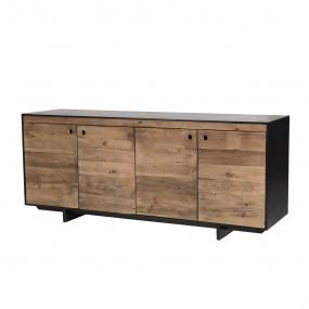 Buffet 4 portes bois Pin recyclé