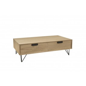 Table basse 4 tiroirs