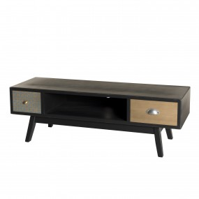 Meuble tv 2 tiroirs
