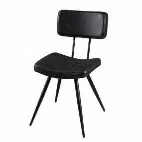 Lot de 2 chaises James noir