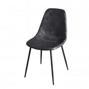 Lot de 2 chaises John noir