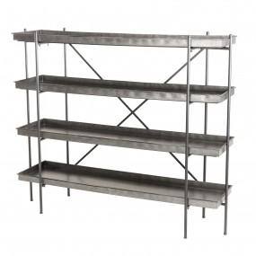 Etagère 4 niveaux plateux Zinc structure métal