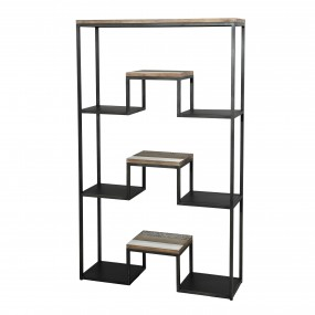 """Etagère """"XL"""" 100 x 170cm 3 niveaux bois et métal"""