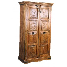 Armoire sculptée Hindi