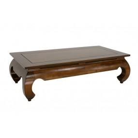 Table basse opium 123x63x35cm plateau 120x35cm Hmong