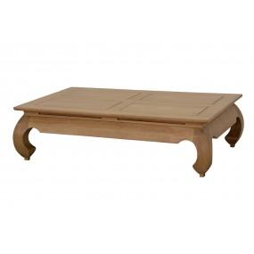 Table basse opium 133x83x35cm plateau 130x80cm Hmong