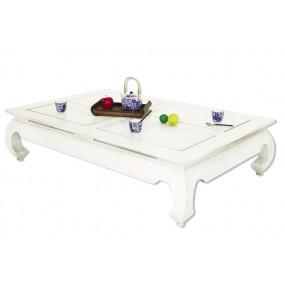 Table basse opium 143x93x35cm plateau 140x90cm Hmong