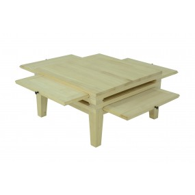 Table basse 4 plateaux Moken