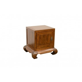 Table de chevet cube opium 1 porte