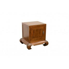 Table de chevet cube opium 1 porte