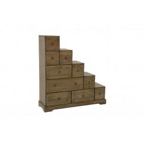 Escalier 10 tiroirs gauche Hmong