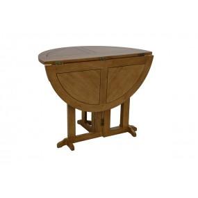Table ronde à abattant Yugur