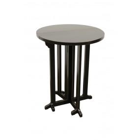 Table ronde plateau à rabats diam 60 Yugur