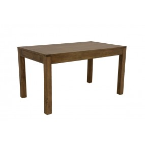 Table repas rectangle moyen modèle avec 2 extensions Sami