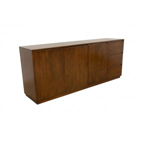Buffet 3 tiroirs 220x50x90cm Sami