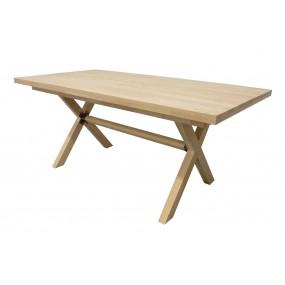 Table scandinave pieds croisés