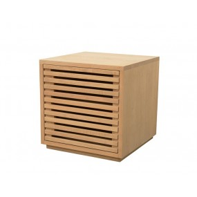 Mini meuble TV 1 porte combinable 45x45x45cm Inuit