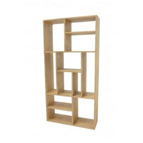 Étagère bois sans fond modules destructurés
