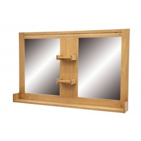 Miroir salle de bain Slave 2 vasques 120cm