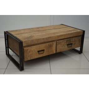 Table basse 2 tiroirs Pachtoune