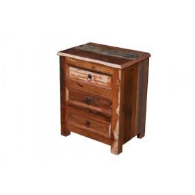 Chevet 3 tiroirs Tamang