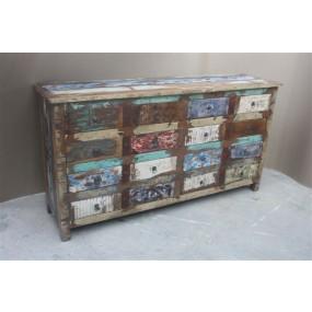 Commode 16 tiroirs Tamang