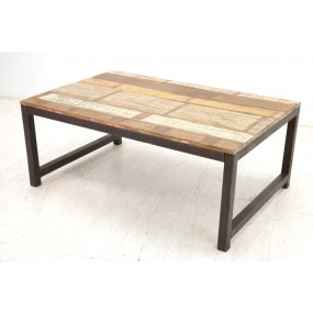 Table basse rectangle moyenne Tamang