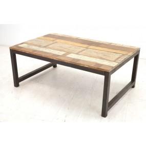 Table basse rectangle moyenne Tamang