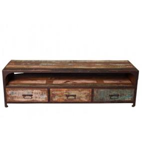 Meuble TV 3 tiroirs Tamang