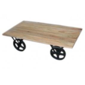 Table basse sur roues Pachtoune