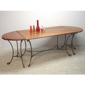 Table de bout demi-cercle Dong