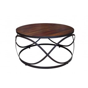 Table basse ronde Dong