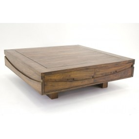 Table basse 4 tiroirs Hindi