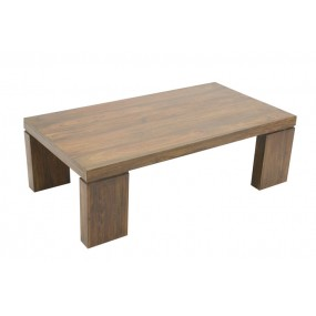 Table basse rectangle pied large Hindi