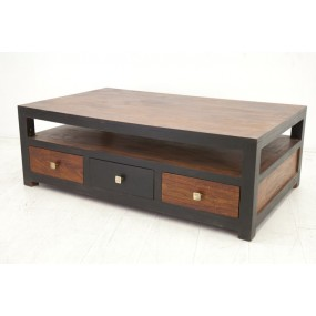 Table basse 6 tiroirs Hindi