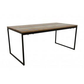 Table Repas simple démontable Wolof finition recyclée