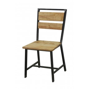 Chaise bistro loft industrielle