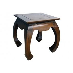 Table basse opium 56x56x56cm plateau 50x50cm Hmong