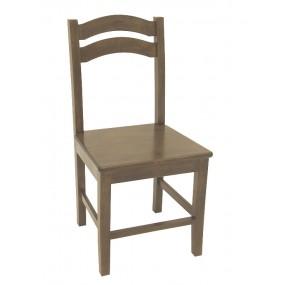 Chaise bois massif classique Teuton