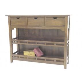 Vaisselier 3 tiroirs Teuton